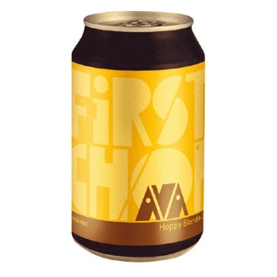 AVA GLUTEN FREE LATTINA cl 33 - Birrificio First Chop - Birra artigianale in stile Blonde Ale
