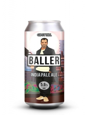 BALLER IPA LATTINA cl 33 - Birrificio Gipsy Hill Brewing Company - Birra artigianale in stile India Pale Ale