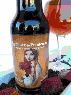 EQUINOXE DU PRINTEMPS cl 34 - Birrificio Brasserie Dieu du Ciel - Birra artigianale in stile Scotch Ale