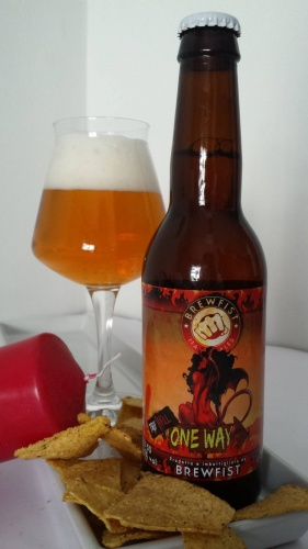 ONE WAY TRIP HELL cl 33 - Birrificio Brewfist - Birra artigianale in stile Belgian Tripel