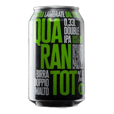 QUARANTOT LATTINA cl 33 - Birrificio Lambrate - Birra artigianale in stile American Pale Ale