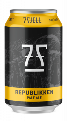 REPUBLIKKEN LATTINA cl 33 - Birrificio 7FJELL - Birra artigianale in stile American Pale Ale