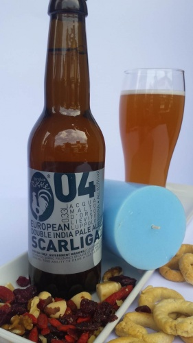 SCARLIGA cl 33 - Birrificio Rurale - Birra artigianale in stile Double Ipa