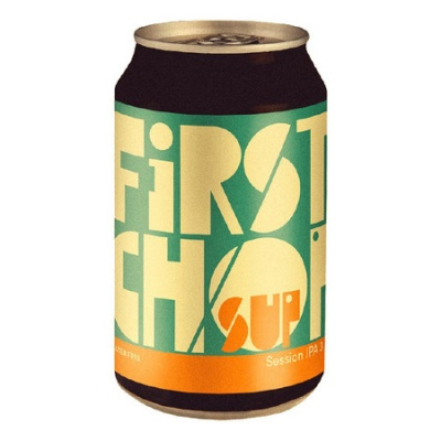 SUP GLUTEN FREE LATTINA cl 33 - Birrificio First Chop - Birra artigianale in stile Session Ipa