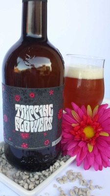TRIPPING FLOWERS cl 75 - Birrificio Opperbacco - Birra artigianale in stile Golden Ale